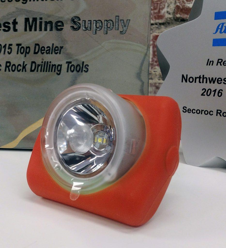 Orange Protective Rubber Boot For Cordless Wisdom Cap Lamp