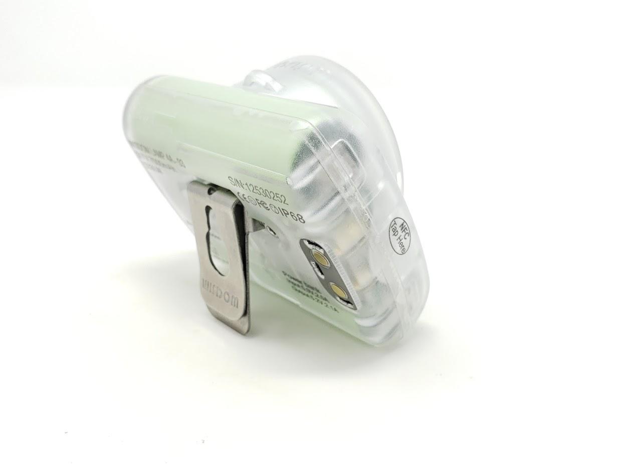 Wisdom Cap Lamp Model 4 Hard Hat Cordless Mine Light w//Accessories /& Hard Case