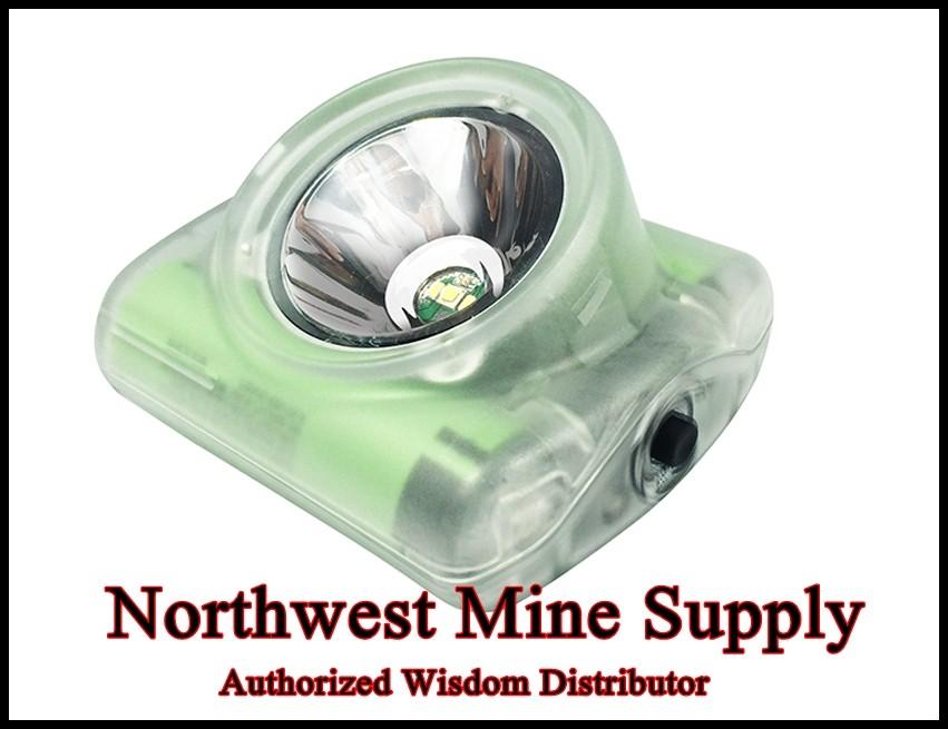 Wisdom 4a Cap Lamp W Accessories Northwest Mine Supply