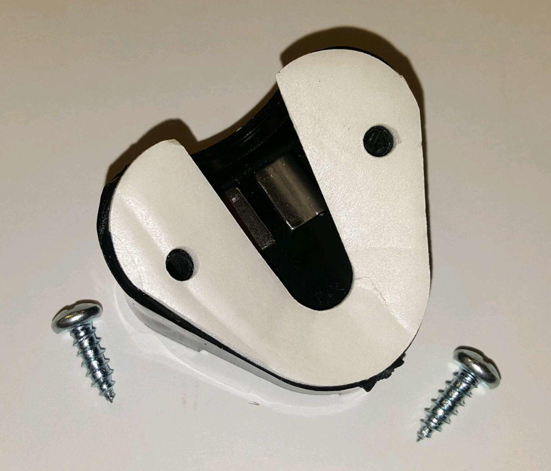 Msa 15244 Screw On Hard Hat Mine Light Lamp Bracket